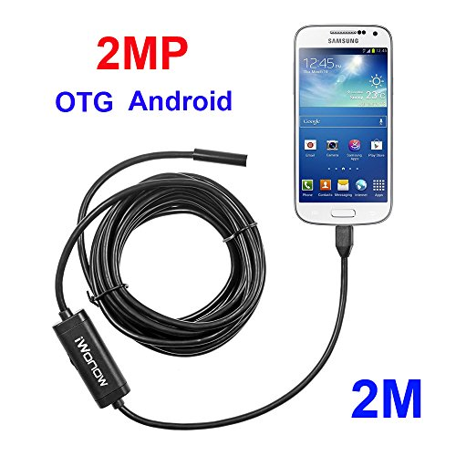 iWonow 2 0MP Android Endoscope OTG Borescope with 2 Meter