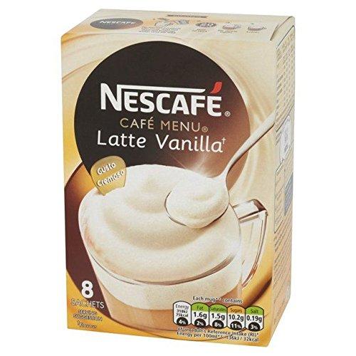 Nescafé Vanille Latte 8 X 18,5 G - Paquet de 2