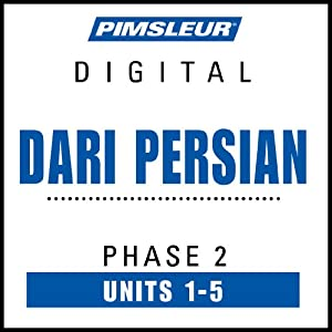 Dari Persian Phase 2, Unit 01-05 Audiobook