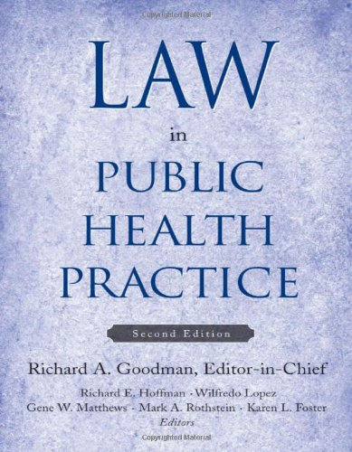 Law in Public Health Practice