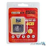 echange, troc Générique - Carte Micro-SD 4GB High-Speed + Adaptateur SD