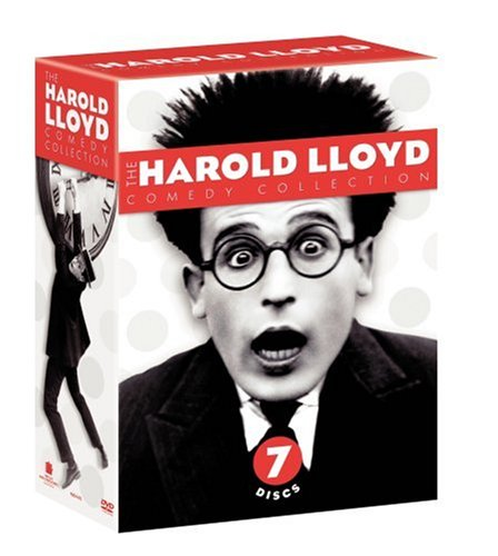 Cover art for  The Harold Lloyd Comedy Collection Vols. 1-3