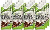 Orgain Organic Nutrition Shake, Creamy Chocolate Fudge, 11 Ounce, 12 Count