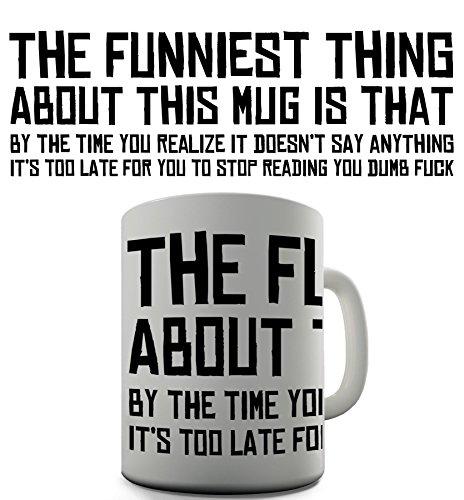 Funny Mug Funny Design Novelty Gift Tea Coffee Office Mug