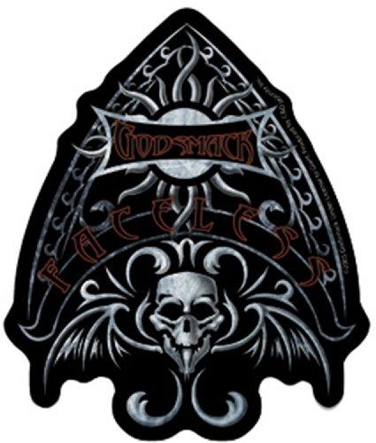 Licenses Products Godsmack Skeleton Sticker