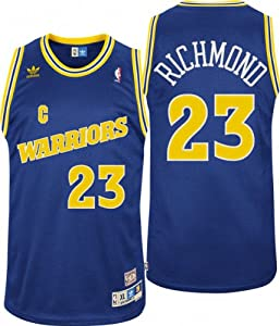 Adidas Golden State Warriors Mitch Richmond Soul Swingman Road Jersey by adidas