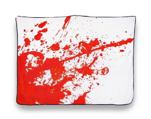Super Soft Blood Splatter Horror Fleece Throw Blanket 45 X 60 In. front-850251