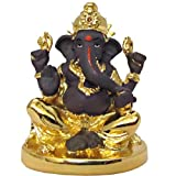 Ghasitaram Gifts LMGTK07 Grey Gold Terricota Ganesh(grey Colour,Rectangular)
