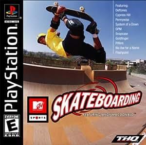 MTV Sports: Skateboarding PS