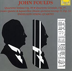 Foulds - Chamber Works by Pearl