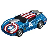 Carrera Go Marvel The Avengers Captain America Stormer