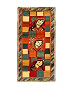 Kilim Carpets by Jalal Alfombra Gashgai (Rojo/Naranja/Marrón)