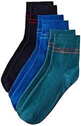 Levis Men's Liners and Ankle Socks (Pack of 5) (19217-0008 Multi-Coloured)