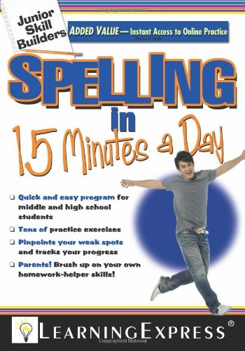 Spelling in 15 Minutes a Day, LearningExpress LLC Editors