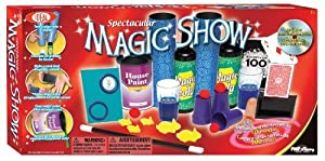 POOF-Slinky 0C470 Ideal 100-Trick Spectacular Magic Show Set with Instructional DVD by Ideal TOY (English Manual)