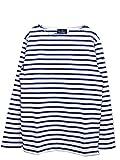 ルミノア Le minor ボーダーバスクシャツ border basque shirt Le001 (3, .blanc/roy)