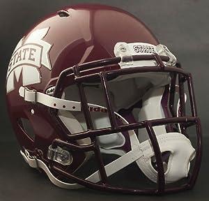 MISSISSIPPI STATE BULLDOGS NCAA Riddell Revolution SPEED Football Helmet by ON-FIELD