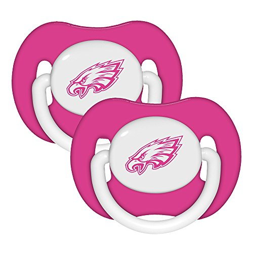 Baby Fanatic Pacifier, Philadelphia Eagles, 2-Count