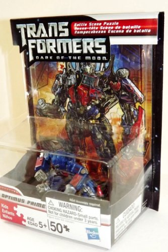 Optimus Prime - New Transformers Action Figure & Puzzle Set! - 1