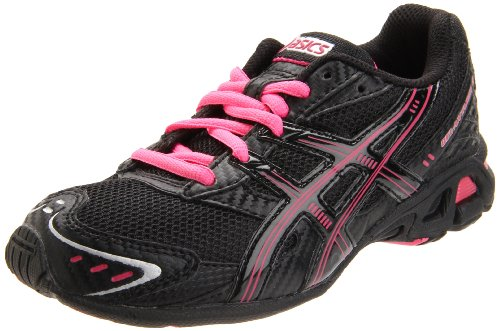 separation shoes b80e0 315e0 ASICS Kids GEL ANTARES 3 GS Running Shoe Black Onyx Pink 5 5 M US Big Kid