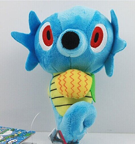 "Pokemon Pikachu Horsea 4"" plush doll toy"
