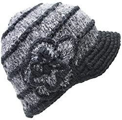 The Ingrid Cap Easy Crochet Hat PATTERN Brim Visor by iArtFlirt