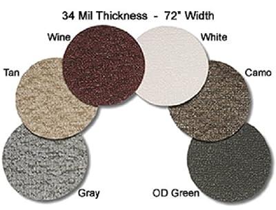 MariDeck Marine Vinyl Flooring - 6' Wide - 34 mil.