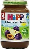 Hipp Pflaume mit Birne, 6-er Pack (6 x 190 g) - Bio