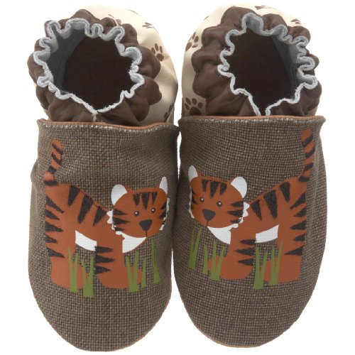 Robeez Infant/Toddler Organic Tiger Soft Sole