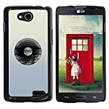 Hard Protector Case Cover Slim Back Shell for LG OPTIMUS L90 D415 Vinyl Record Music Minimalist Artistic Music