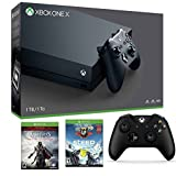 Xbox One X Bonus Bundle - Includes - Xbox One X 1TB Console, Controller, Assassin's Creed The Ezio Collection and Steep
