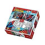 Trefl - 36506 - Puzzle à Colorier - Spiderman - 48 Pièces...