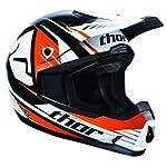 Thor Quadrant Motocross Helmet Race Orange Large L