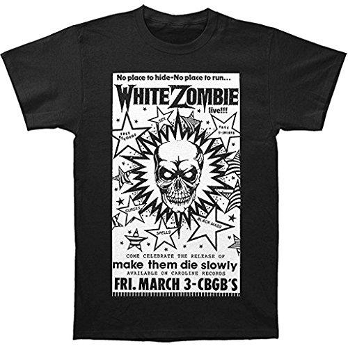 White Zombie CBGB Poster Uomo Maglietta
