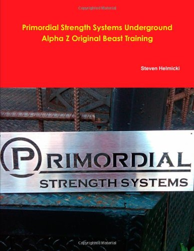 Primordial Strength System Alpha Z Beast Training front-1002359