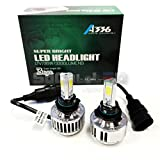 SOCAL-LED 9006 (HB4) 72W 3Light Automotive LED Bulbs Headlight Conversion Kit 6000K Xenon White Halogen/HID Replacement