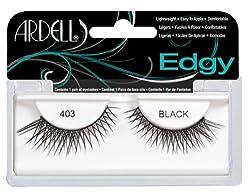 Ardell Edgy Fake Eyelashes, 403 Black