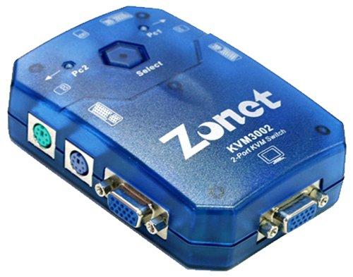 2 Port KVM Switch - AUTO2 Sets Of 6 Ft Cables InclB0000DCK77 : image