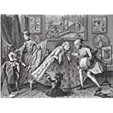 A Taste in High Life, by William Hogarth (V&A Custom Print)