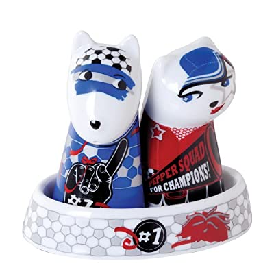 Top Choice Footie Fans Salt Dog and Pepper Cat by Top Choice