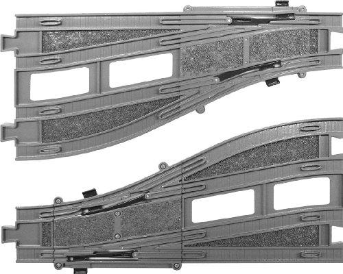 PLARAIL Advance - AR-05 Double Track Point Rail (A/B each 1pc.) (Model Train) by Takara Tomy (Advance Alpha 5 compare prices)
