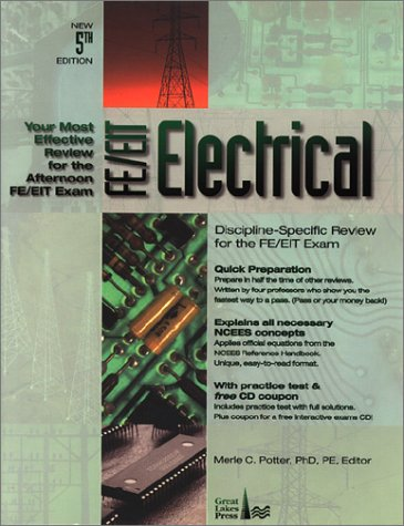 Fe/Eit Electrical: Discipline-Specific Review For The Fe/Eit Exam