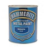 ICI 5092826 750ml Hammerite Metal Paint Smooth - Blue