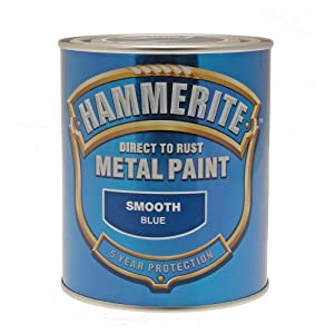 Hammerite SFGO750 750ml Direct to Rust Smooth Finish - Gold