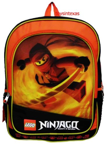 Ninjago Lego Red Fire Backpack Fullsize 16