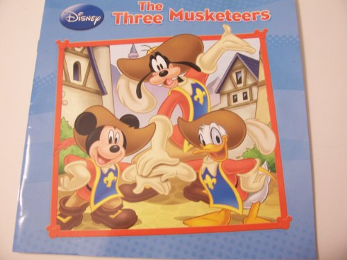 "Disney The Three Musketeers (8"" x 8"" Paperback, 2012) - 1"