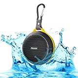 Abusun Bluetooth スピーカー 防水&防塵認証 スピーカー 高音質 音楽再生 ハンズフリー通話可能 iPhone iPod notePC Smartphone MP3Player等Bluetooth機器の対応 (ブラック)