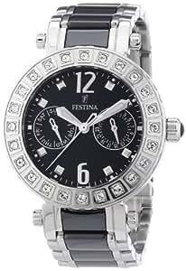 Festina Damen-Armbanduhr Trend Multifunktion Analog Quarz Keramik F16587/3