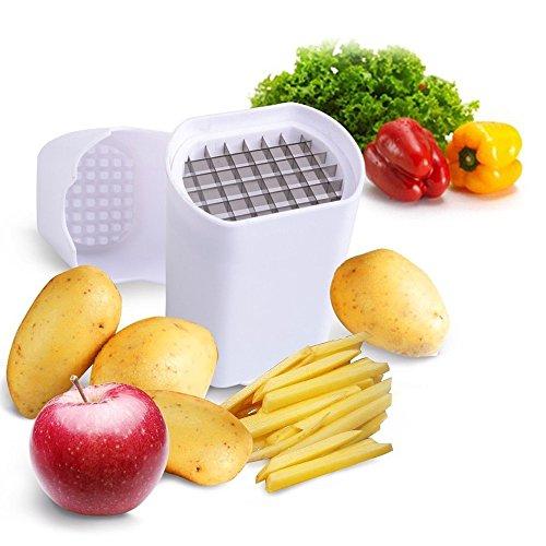 HevaKa Veggie de pomme de terre pomme de terre Chipper chopper - mieux pour Français Fries (tranches de pomme - machine à gaufres de pommes de terre frites)