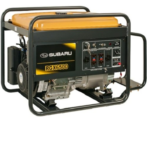 Subaru Rgx6500 Industrial Power Generator, Ex35, 12 Hp Subaru Ohc Engine, 6500-Watt